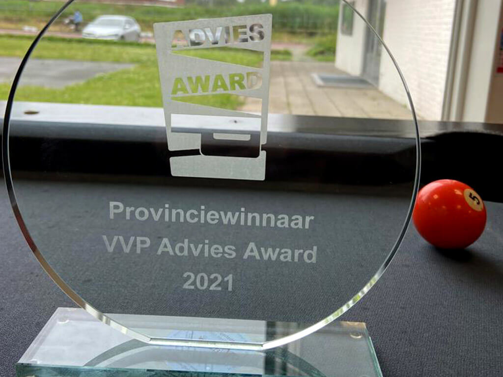 Advies en Kies provinciewinnaar én halve finalist Advies Award 2021